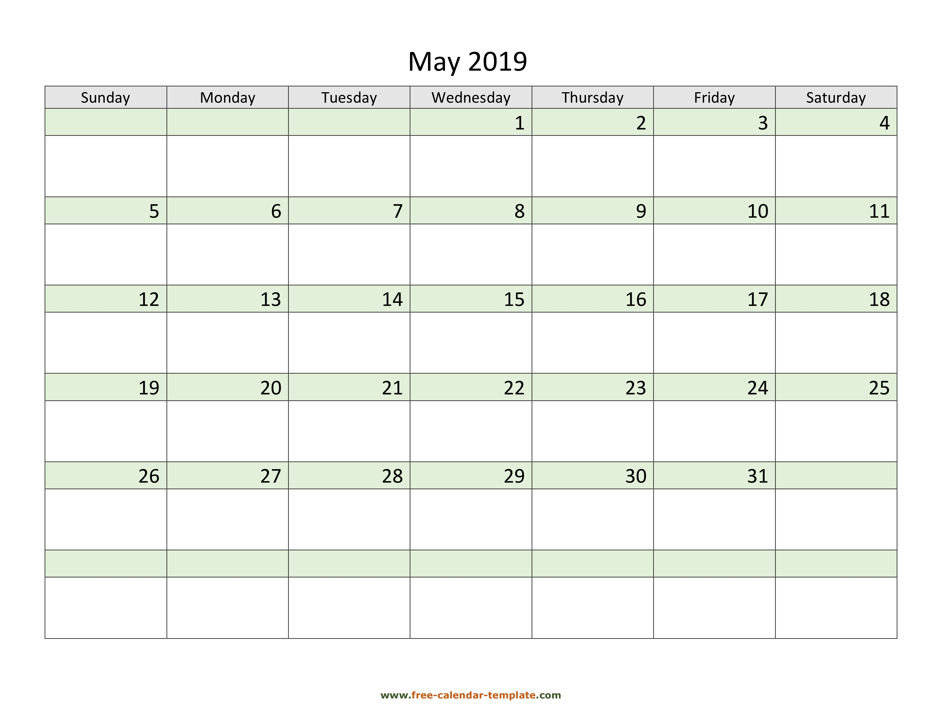 april may 2019 calendar pdf