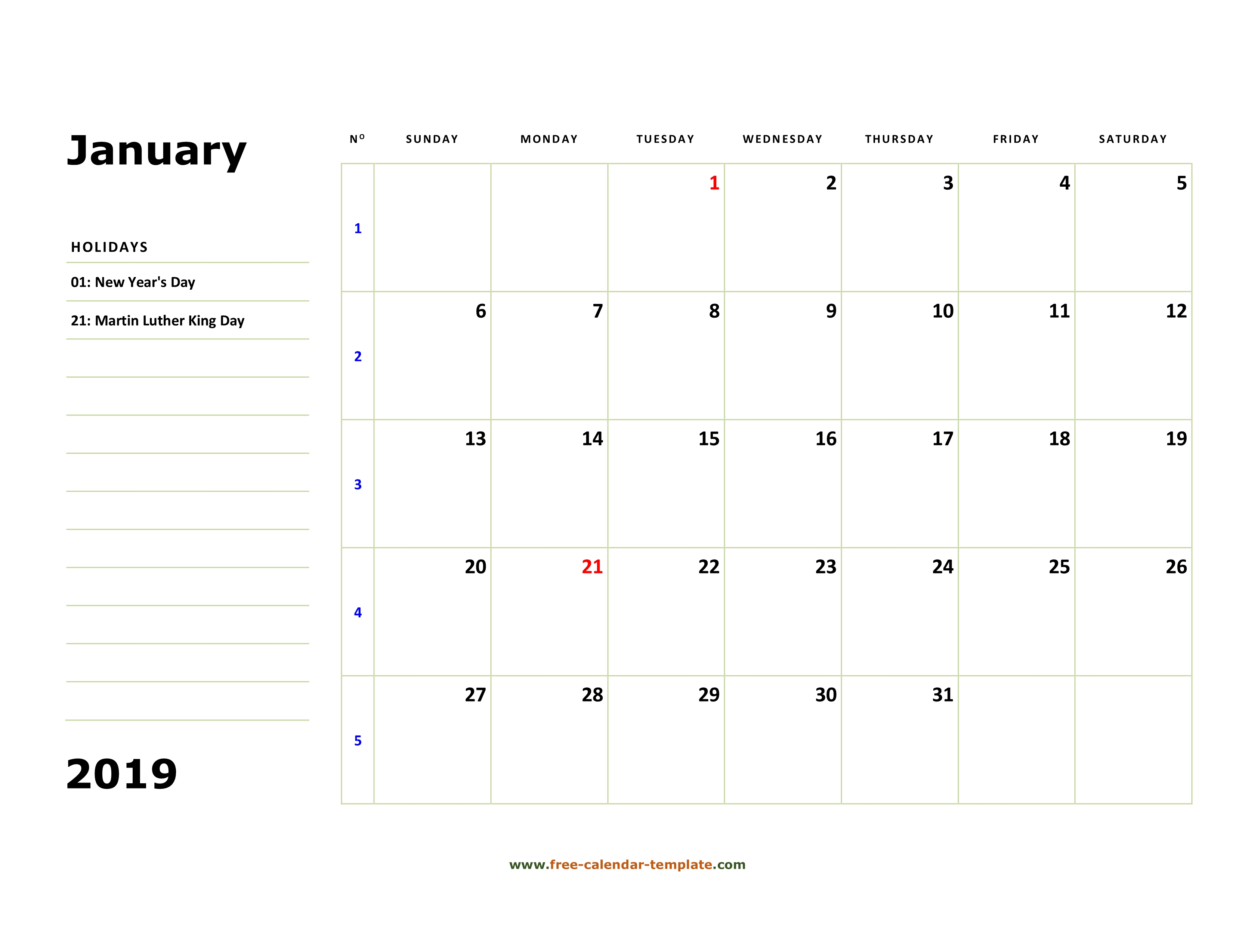 printable monthly calendars with lines