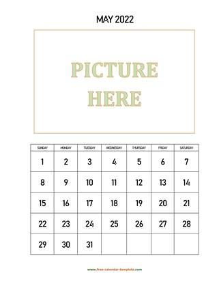 may 2022 calendar picture vertical